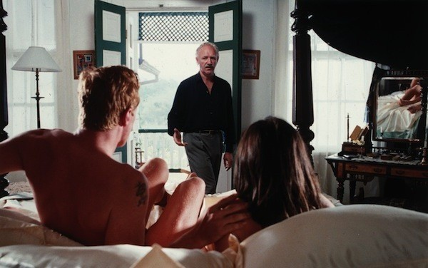 Gene Hackman (center), Rutger Hauer and Theresa Russell in Eureka (Photo: Twilight Time)