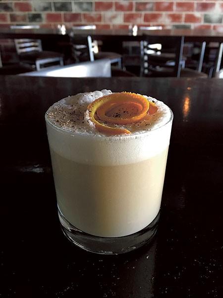 A brunch cocktail from Davidson Street Public House. (Photo courtesy of Davidson Street Public House)