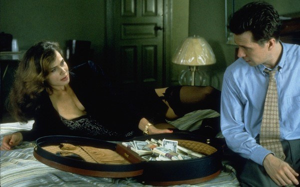 Lena Olin and Gary Oldman in Romeo Is Bleeding (Photo: Twilight Time)