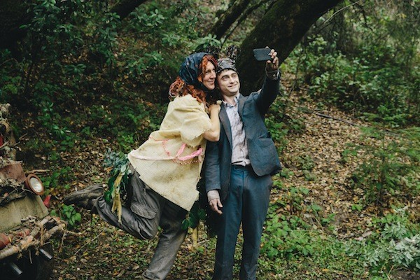 Paul Dano and Daniel Radcliffe in Swiss Army Man (Photo: A24)