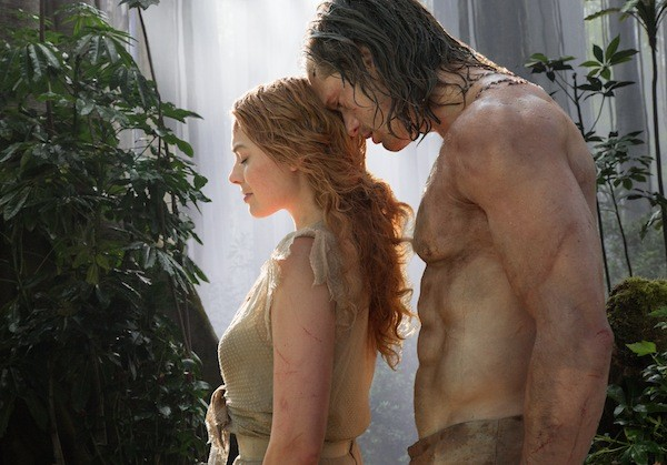 Margot Robbie and Alexander Skarsgård in The Legend of Tarzan (Photo: Warner Bros.)