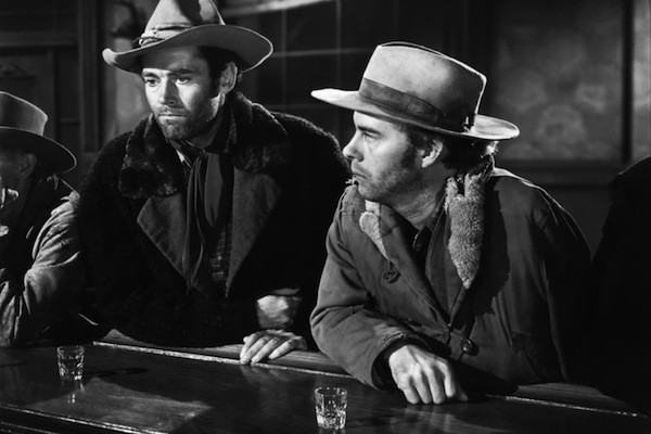 Henry Fonda and Henry (Harry) Morgan in The Ox-Bow Incident (Photo: Kino)