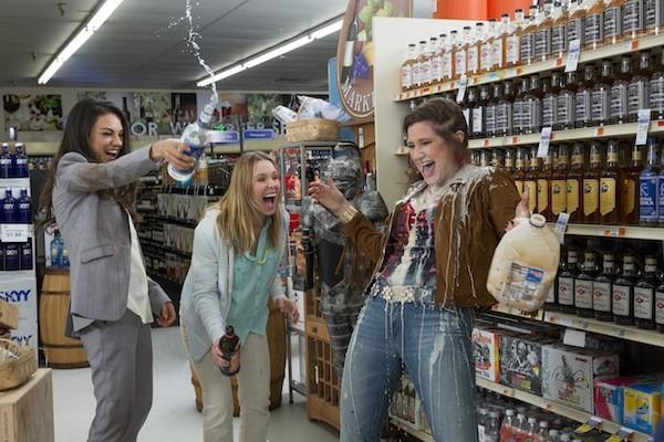 Mila Kunis, Kristen Bell and Kathryn Hahn in Bad Moms (Photo: STX Entertainment)