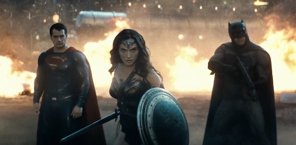 Henry Cavill, Gal Gadot and Ben Affleck in Batman v Superman: Dawn of Justice (Photo: Warner Bros.)