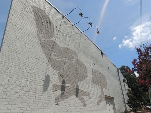 Cedar St. mural. - RYAN PITKIN