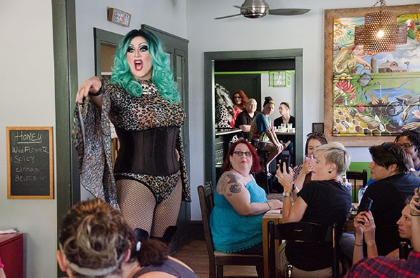Drag Brunch at Pure Pizza kickoff on Sept. 10. (Photo credit: Bethany Otten Photography)