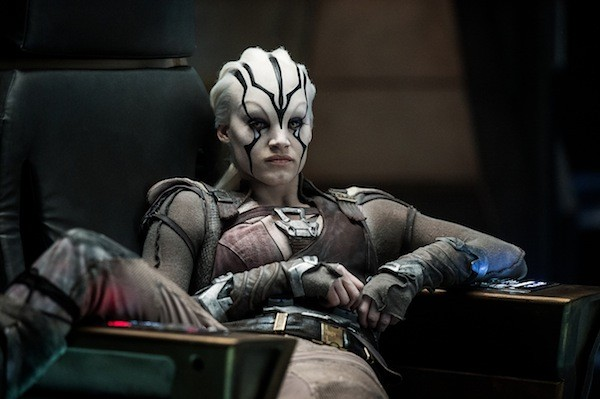 Sofia Boutella in Star Trek Beyond (Photo: Paramount)