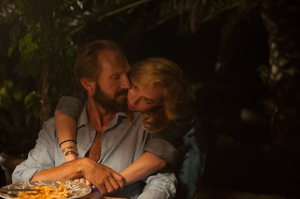 Ralph Fiennes and Dakota Johnson in A Bigger Splash (Photo: Fox)