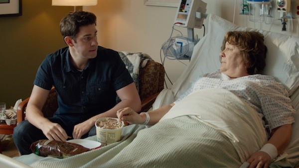 John Krasinski and Margo Martindale in The Hollars (Photo: Sony Pictures Classics)