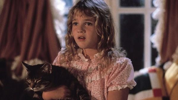 Drew Barrymore in Cat's Eye (Photo: Warner)