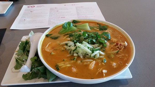 Curry laksa from Co. (Critics' Best Place To Sweat It Out)