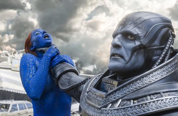 Jennifer Lawrence and Oscar Isaac in X-Men: Apocalypse (Photo: Fox)