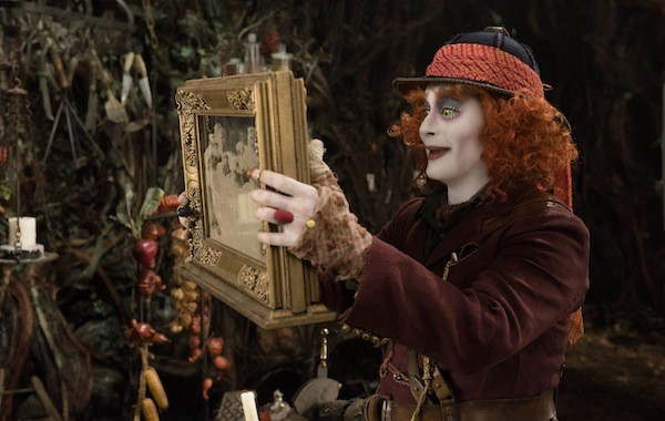 Johnny Depp in Alice Through the Looking Glass (Photo: Disney)