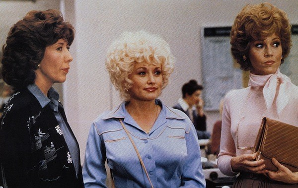 Lily Tomlin, Dolly Parton and Jane Fonda in 9 to 5 (Photo: Twilight Time)