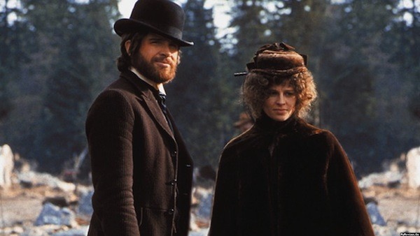 Warren Beatty and Julie Christie in McCabe & Mrs. Miller (Photo: Criterion)