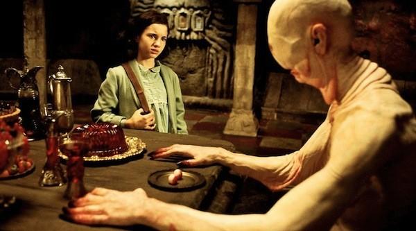 Ivana Baquero and Doug Jones in Pan's Labyrinth (Photo: Criterion)