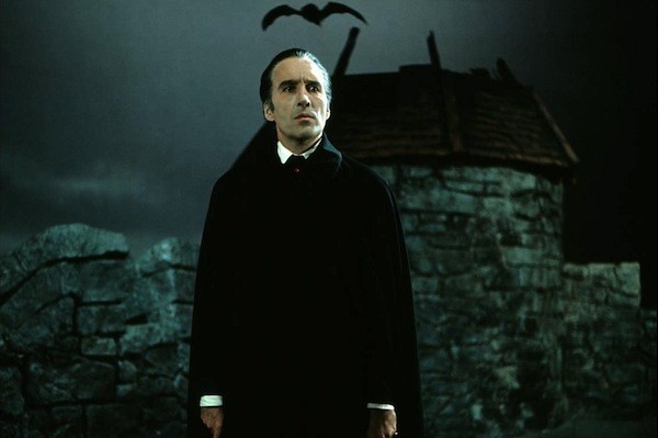 Christopher Lee's Dracula, one of the subjects of discussion in The Trail of Dracula (Photo: InterVision)