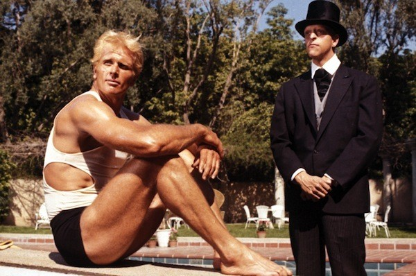 Ron Ely and Michael Berryman in Doc Savage: The Man of Bronze (Photo: Warner)