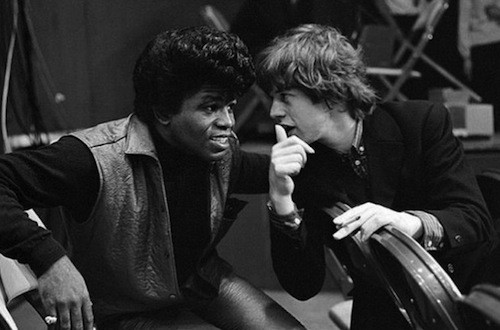 James Brown and Mick Jagger in The T.A.M.I. Show (Photo: Shout!)