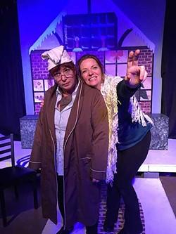 Cheering up Scrooge - JOANNA GERDY