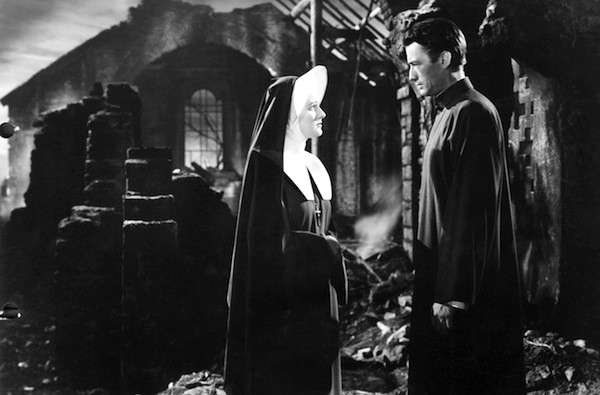 Rosa Stradner and Gregory Peck in The Keys of the Kingdom (Photo: Twilight Time)