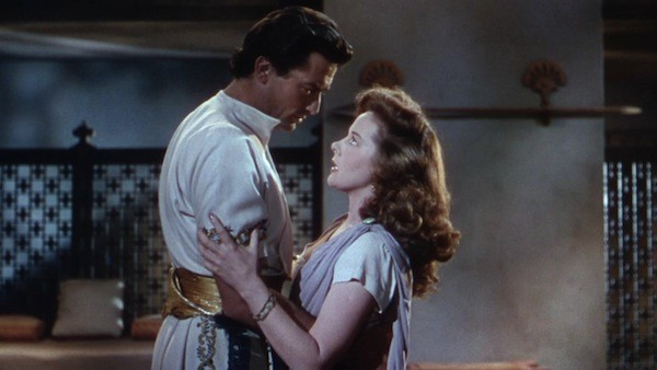Gregory Peck and Susan Hayward in David and Bathsheba (Photo: Kino)