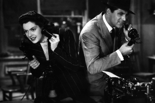 Rosalind Russell and Cary Grant in His Girl Friday (Photo: Criterion)