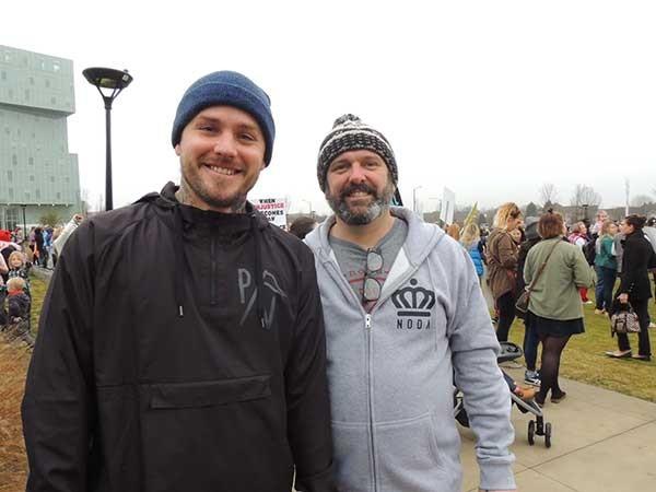 Joey Hewell (left) and Scott Lindsley. - RYAN PITKIN