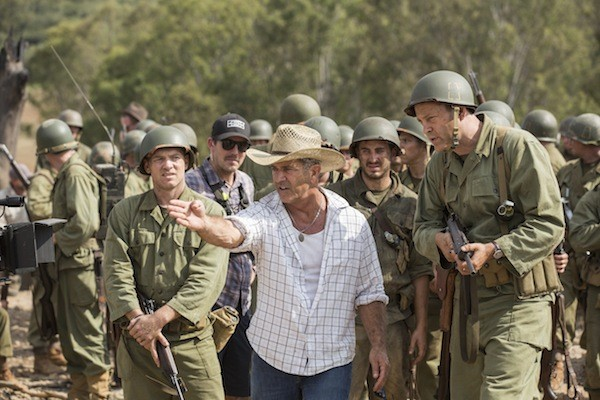 Mel Gibson earned a dubious Best Director nod for Hacksaw Ridge (Photo: Lionsgate)