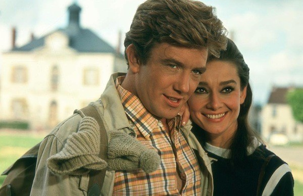 Albert Finney and Audrey Hepburn in Two for the Road (Photo: Twilight Time)