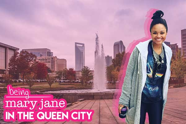 Aerin Spruill is 'Being Mary Jane' - PHOTO ILLUSTRATION BY DANA VINDIGNI