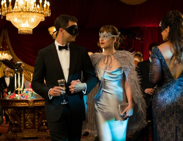 Jamie Dornan and Dakota Johnson in Fifty Shades Darker (Photo: Universal)
