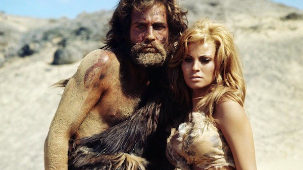 John Richardson and Raquel Welch in One Million Years B.C. (Photo: Kino)