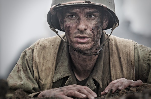 Andrew Garfield in Hacksaw Ridge (Photo: Summit)