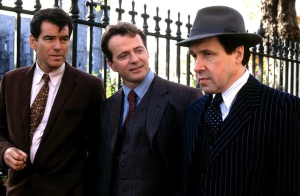 Pierce Brosnan, Aidan Quinn and Stephen Rea in Evelyn (Photo: Olive & MGM)