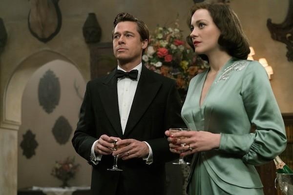 Brad Pitt and Marion Cotillard in Allied (Photo: Paramount)