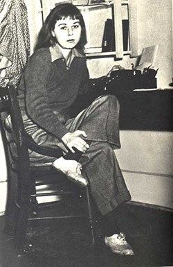 Photo of McCullers courtesy of Columbus State University's Carson McCullers Center for Writers and Musicians
