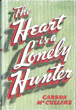 1940 First Edition of 'The Heart is a Lonely Hunter.'