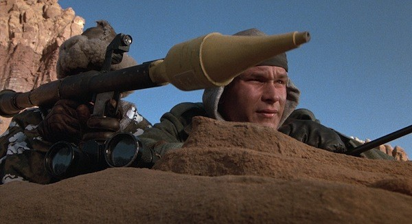 Patrick Swayze in Red Dawn (Photo: Shout! Factory & MGM)