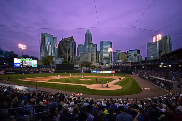 It's the Knights' fourth season in the Uptown ballpark, and yet no one wants to believe that their friends have already seen enough skyline shots on social media. Snap away, folks. - LAURA WOLFF