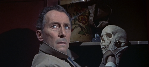 Peter Cushing in The Skull (Photo: Kino)