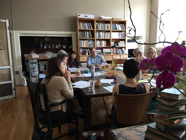 Charlotte Lit provides a comfortable space for writers to collaborate. - PHOTO BY PAUL REALI