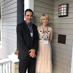 Charlotte Lit cofounders Paul Reali and Kathie Collins