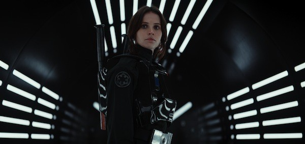 Felicity Jones in Rogue One: A Star Wars Story (Photo: LucasFilm & Disney)