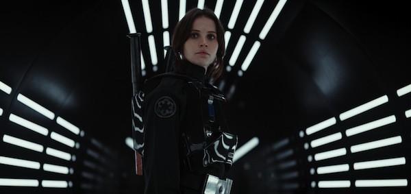 Felicity Jones in Rogue One: A Star Wars Story (Photo: LucasFilm & Disney)