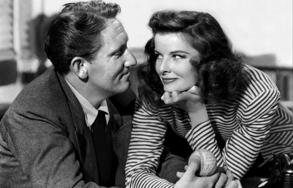 Spencer Tracy and Katharine Hepburn in Woman of the Year (Photo: Criterion)