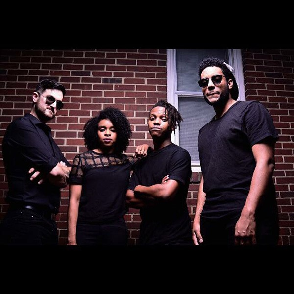 Favelas are David Helms (from left), Alexa Rae-Ramkissoon, Eli Red and Axnt. Photo by Surf Mitchell.