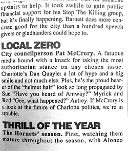 From Best of Charlotte '93