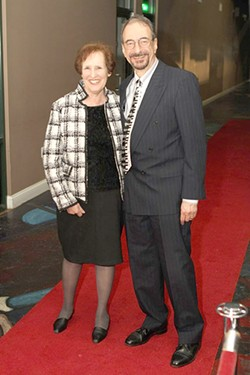 Sue and Perry Tannenbaum on the CAST red carpet in Charlotte in 2013.