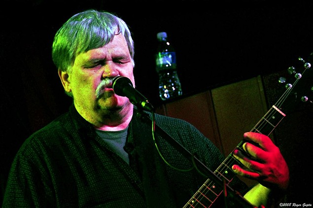 Col. Bruce Hampton gets his zany on in Blacksburg, Va., in 2008. - PHOTO BY ROGER GUPTA